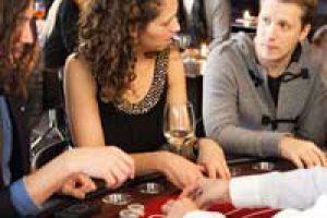 Oliver Pocher bei uns am Blackjack Tisch
