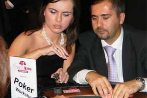 Wir bieten auch Poker Workshops an.